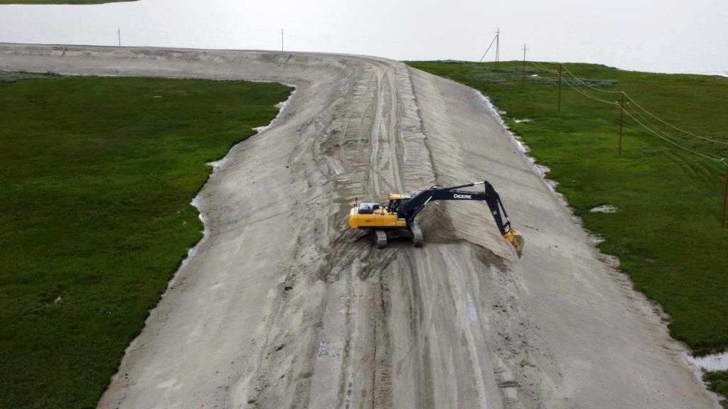 Автомобильная дорога №1, №2 к кусту скважин №19G Бованенковского нефтегазоконденсатного месторождения